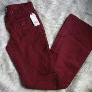 Joie Pants - Joie New Smokescreen Cranberry Casual Pants Sz 27