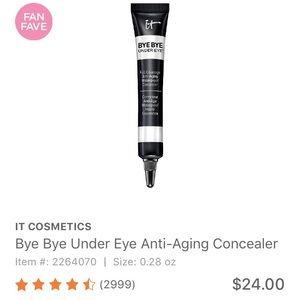 It cosmetics Other - iT Cosmetics bye bye under eye concealer