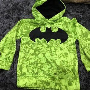 Batman Other - Batman Neon Kids Hoodie Size XS 4-5
