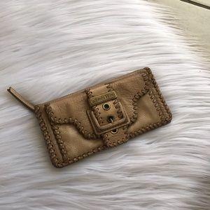 Isabella Fiore Handbags - ISABELLA FIORE BUCKLE WALLET LEATHER BI FOLD