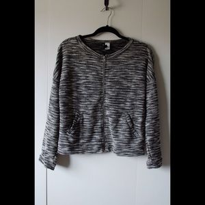 H&M Divided Bomber Style Sweater