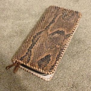Handbags - Genuine Snake Skin Wallet