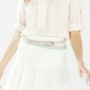 ❤ NWT BCBG MaxAzria Double-Wrap Whipstitch Belt