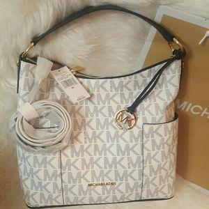 Michael Kors Handbags - NWT* Michael Kors Anita Large Conv. Shoulder Bag*