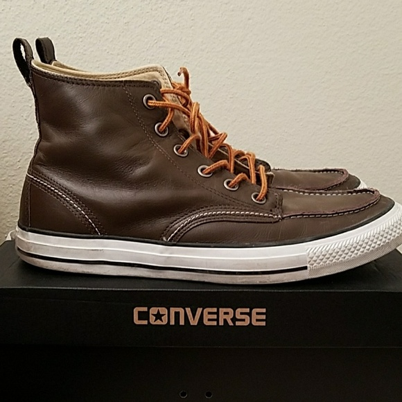 0710695e440b Converse Other - Converse high top leather sneakers