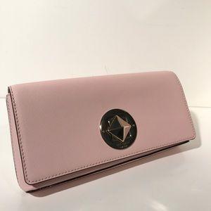 kate spade Handbags - Kate Spade Pink Leather Clutch