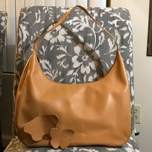 Furla Handbags - FURLA Leather Tan Hobo Bag