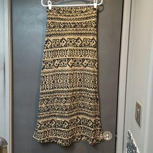 Swell Dresses & Skirts - Tribal Print Maxi Skirt
