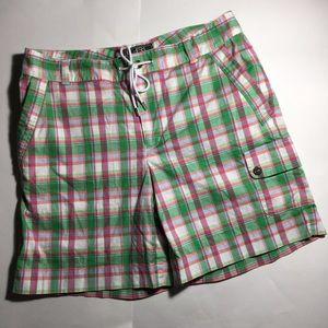 Lauren Ralph Lauren Pants - Ralph Lauren Active Women's Green Pink Golf Shorts