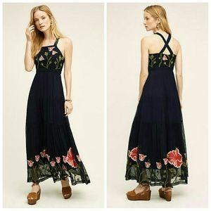 Anthropologie Tulipan Maxi dress 2 Floreat