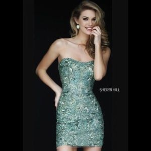 Sherri Hill Dresses & Skirts - Sherri Hill 1953 jade size 4 new with no tags