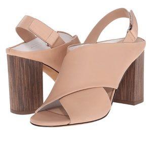 Vince Shoes - 🚨Price⬇️Vince Faine Slingback Nude Mule Sandal 9