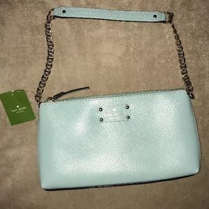 KATE SPADE~♠️~Robin Egg Wellesley Byrd Purse