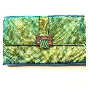Rebecca Minkoff Handbags - Rebecca Minkoff Metallic Clutch