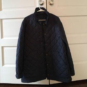 J. McLaughlin Other - JMcLaughlin navy quilted jacket size L
