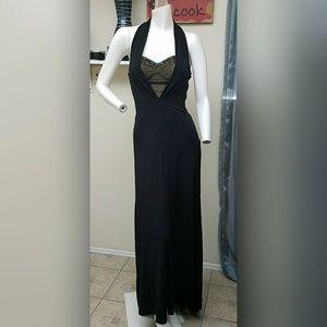 Alberto Makali Dresses & Skirts - Alberto Makali beaded black gown