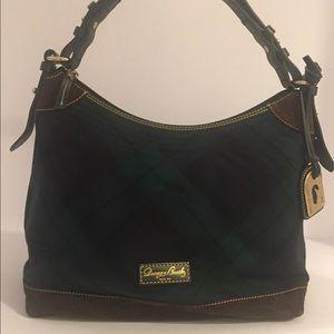 Dooney & Bourke Large Erica Tartan Plaid Handbag
