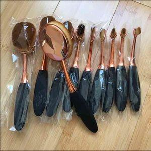 Other - New 10pcs Ovals Makeup Toothbrush Set