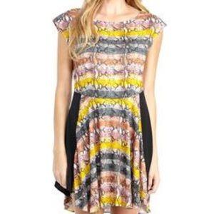 Rachel Roy Dresses & Skirts - Rachel Roy Striped Snake Print  dress