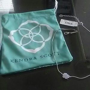 RARE: Kendra Scott Mara Iridescent Druzy Necklace