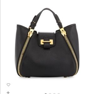 Handbags - TOM FORD Sedgwick Mini Zipper Tote Bag