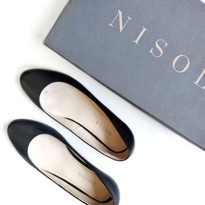 Nisolo Shoes - Nisolo Black Leather Mendez Shoe