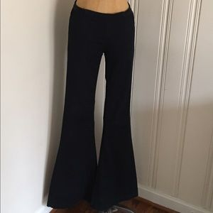 Blank NYC Denim - Blanknyc mid rise dark blue flare pull on jeans 27