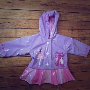 Kidorable Other - Kidorable Ballerina Rain Coat 💜🌸☂️