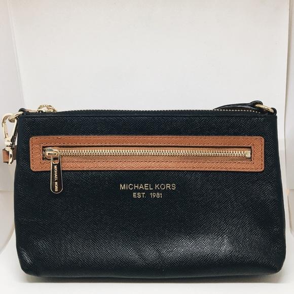4951ebf1c4bf MICHAEL Michael Kors Bags   Michael Kors Leather Saffiano Colorblock ...