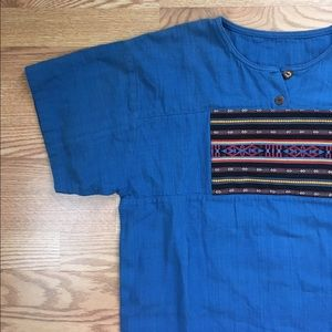Vintage Other - Vintage Hand Woven Guatemalan Shirt