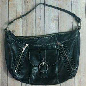 Perlina Handbags - PERLINA leather hobo
