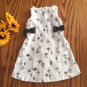 Hartstrings Other - Hartstrings pink and black umbrella dress. Size 3t
