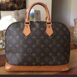 Louis Vuitton Handbags - AUTHENTIC LOUIS VUITTON ALMA PM