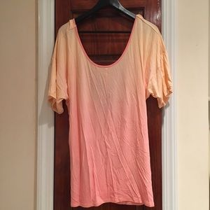 New York & Company Other - New York & Company Open Back Ombré Top