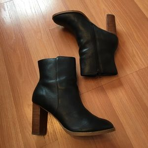Sole Society leather booties