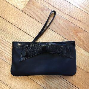 kate spade Handbags - Kate Spade • Black Bow Wristlet