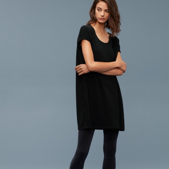 5364c1658ae3 Aritzia Dresses | Nwt Wilfred Free Lorelei Black Dress | Poshmark