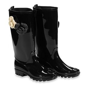 Capelli of New York Shoes - ☔️Capelli Of New York Shiny Flower Rain Boots☔️