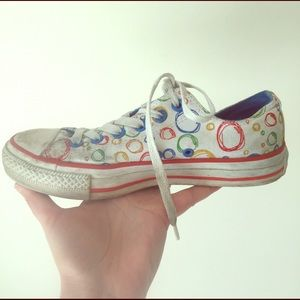 CONVERSE all star ⭐️ rainbow  sneakers size 7