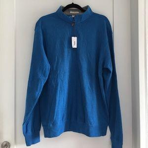 Peter Millar Other - Peter Millar Men's Blue Pullover 1/4 Zip size M