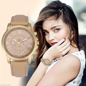 Geneva Platinum Accessories - BRAND NEW Geneva Leather Analog Fashion Watch