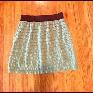 Green skirt!