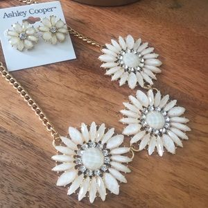 Ashley Cooper Jewelry - NWT Ashley Cooper Statement Necklace and Earrings