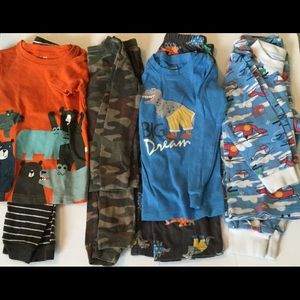 Other - 3 piece PJ lot, size 4 excludes Dino fleece