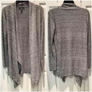 Barefoot Dreams Sweaters - Barefoot Bamboo Chic Lite Super Soft Cardigan Gray