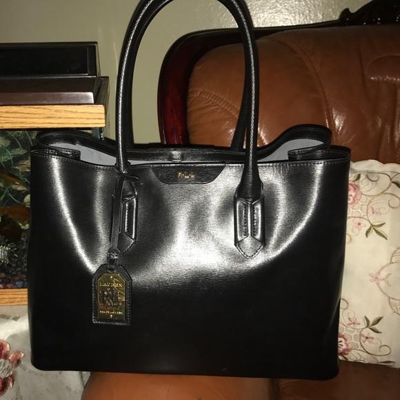 6abda71a456 Lauren Ralph Lauren Bags   Lauren By Ralph Lauren Tate City Tote ...