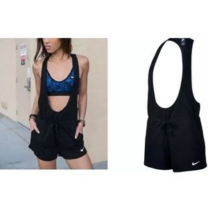 Nike Pants - Nike prep romper black one piece overalls