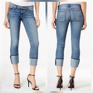 Hudson Jeans Denim - Hudson Muse Cropped Skinny Jeans in Dogwood