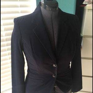 Navy blue ladies' jacket, new with tags