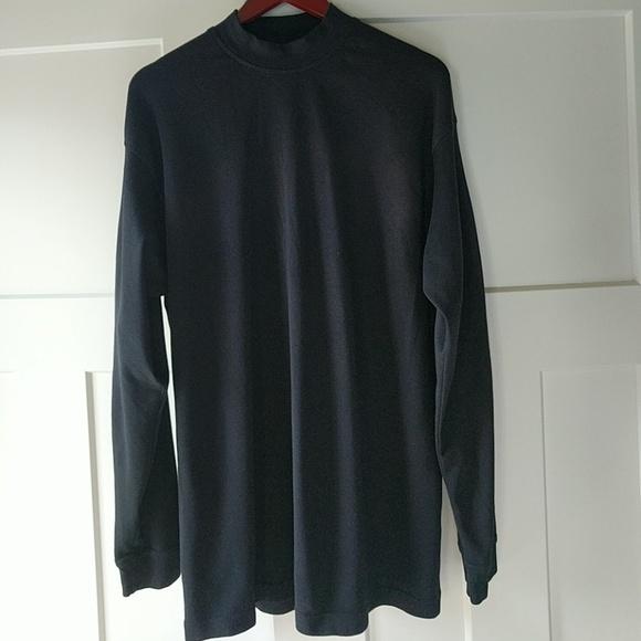 6e5fd98b4 Lone Cypress Pebble Beach Other - 100% pima cotton black men's long sleeve  shirt L